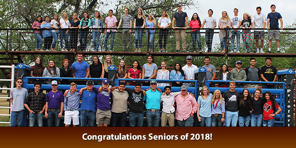 Congratulations Seniors of 2018!